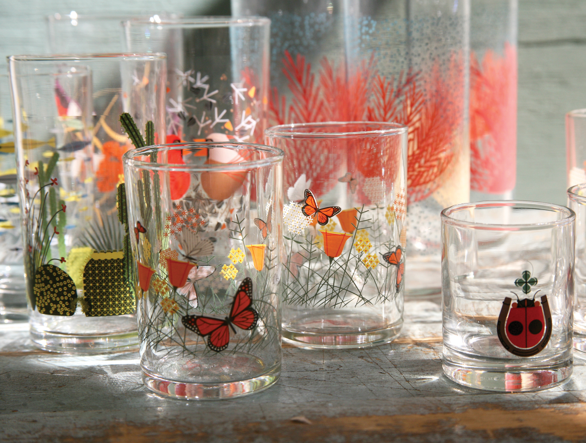 Charley Harper Todd Oldham Love Fishs Eddy Glware And Dishware